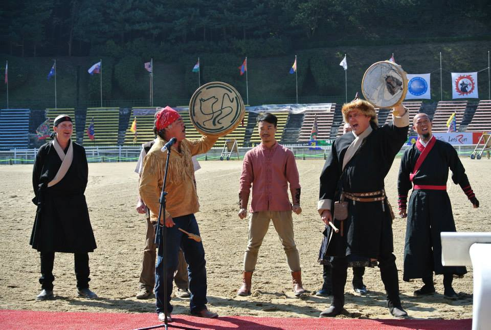 Canadian Mounted Archery South Korea 2014
